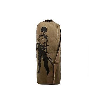 Outdoors Canvas Military Backpack, Camping, Hiking, Rucksack Women, Men Bag,
