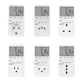 Electronic Digital Timer Switch Plug Timers Outlet