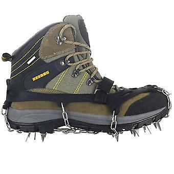 Rostfritt stål Anti Slip Ice Snow Shoe Boot Grips, Traction Cleats, Crampon
