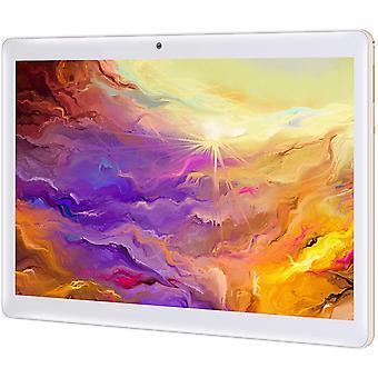 Wokex Tablet 10 Zoll Android 10.0, 4 GB RAM 128 GB ROM, Octa Core Prozessor, 4G LTE Dual SIM, HD