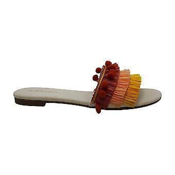 BCBGeneration Women's Genna Sandal, Marigold/Persimmons/Rust, 9 M US