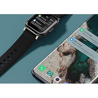 Inteligentny zegarek sportowy, wodoodporny ip68, 12 trybów sportowych, przypomnienie o połączeniu, bluetooth 5.0