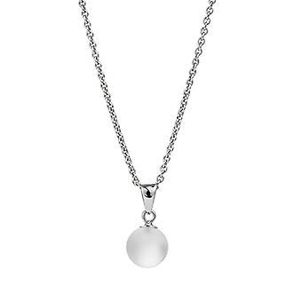 Adriana dreambase-pendant in the shape of Gelato 925 silver rhodium white - AGK4