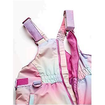 Essentials Flickors stora vattenbeständiga snöbib, ombre rosa, X-Large