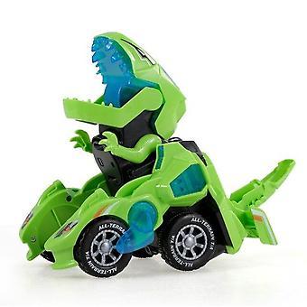 GOOLRC Dinosaur Cars Dinosaur Car Toys Transformable Dinosaur Pull Back Car Toy|RC Animals