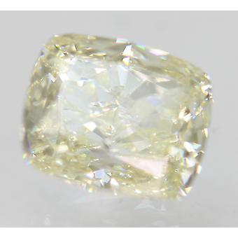 Sertifioitu 0,76 Karat I Väri VVS1 Tyyny Natural Loose Diamond 5.38x4.59mm