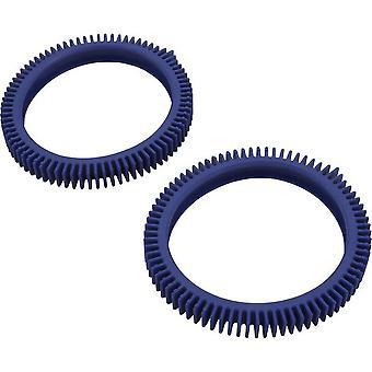 Bande de roulement roue PVX075PK2-234 Hayward - bleu - lot de 2