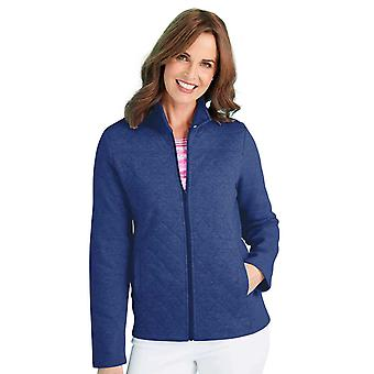 Chums Quilt Panel Jersey Leisure Jacket