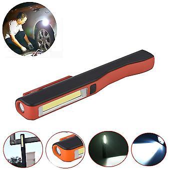 ل3W COB LED العمل الخفيفة في الهواء الطلق التخييم الطوارئ مصباح القلم المغناطيسي مصباح مصباح يدوي WS36519