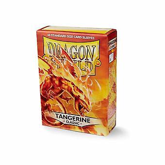 Dragon Shield Tangerine Classic Card Sleeves - 60 Sleeves