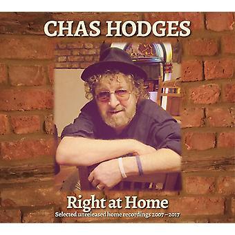 Chas Hodges - Right At Home Utvalgte Ikke utgitte Hjemmeopptak 2007-2017 Vinyl