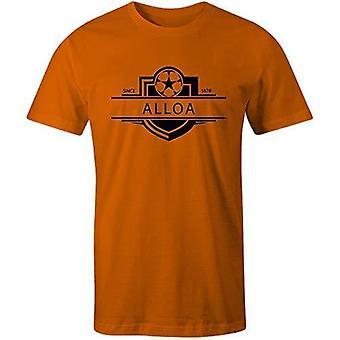 Sporting empire alloa athletic 1878 established badge football t-shirt