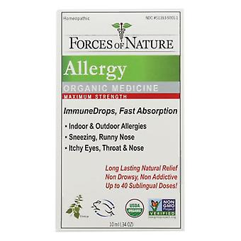 Forces of Nature Allergy Maximum Strength, 10 ml