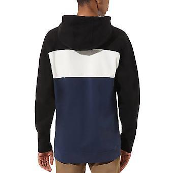 Vans Mens Retro Active Casual Crew Neck Colourblock Pullover Sweatshirt - Blue