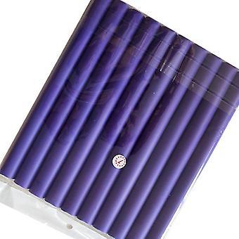 10pcs / Lot Curler Makers Weichschaum Bendy Curls DIY Styling Haarrollen Werkzeug (Lila)