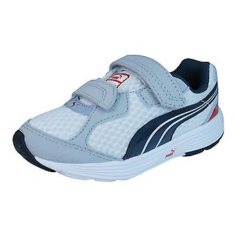 Descendiente de Puma V Kids Running zapatillas / zapatos - blanco