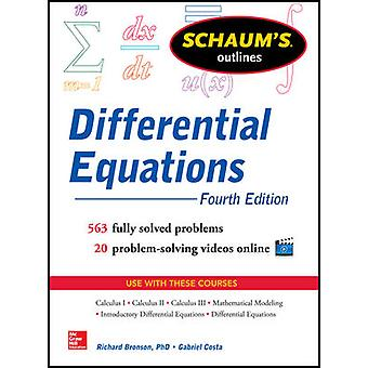 Schaum's Outline of Differential Equations 4th Edition