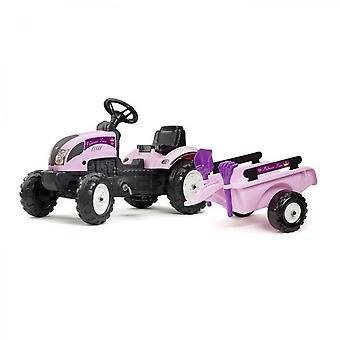 Falk Princess Tractor met Aanhangwagen