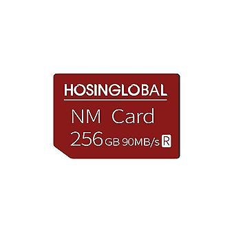 NM-kortti 256 Gt nanomuistikortti Huawei Mate40 Mate30 X Pro P30 P40 Pro -sarjalle Nova5 6 MatePad