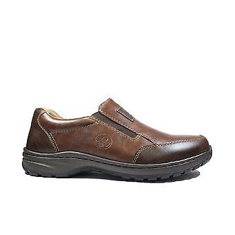 Rieker 03354-26 Brown Mens Slip On Shoes