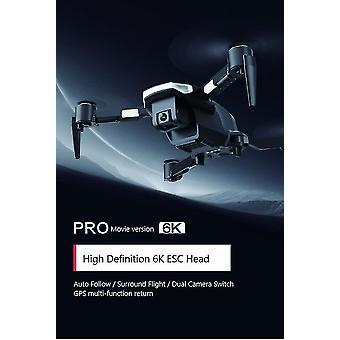 M21 drone 6k видеокамера 5g Wi-Fi камера дрон gps профессиональный RC комплект дронов игрушки| Радиоуправляемые вертолеты