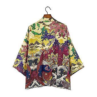 Kimono capispalla kimono samurai karate streetwear camicia