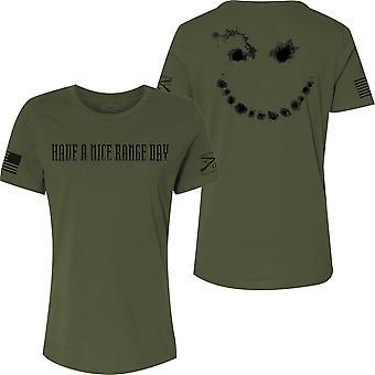 Grunt Style Naisten on mukava range päivä Rento Fit T-paita - Military Green