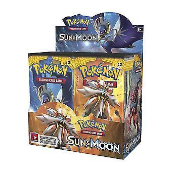 324pcs / Set Pokemon Karten: versiegelt Booster Box Sammlung Sammelkartenspiel Spielzeug