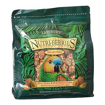 Lafeber trópusi gyümölcs Nutri-Berries Parrot Food - 3 £