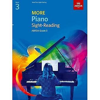 More Piano Sight-Reading, Grade 3 (ABRSM Sight-reading)