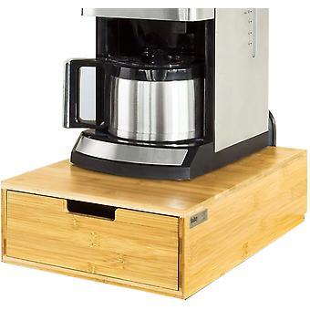 SoBuy Coffee Machine Stand &Pod Capsule Storage Cajón, FRG83-N
