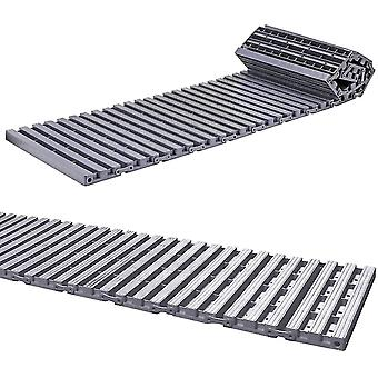 Floor protection films runners 16pc plastic paver slabs grey