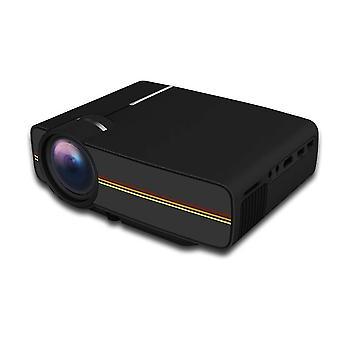 Multimedia projectors mini projector 1080p portable led projector black