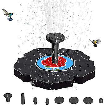 Solar Fountain Pompa pentru Bird Bath Solar Water Fountain Cu 4 Duze