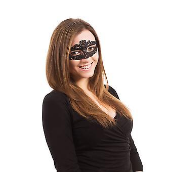 Spitze Eyemask Ribbon Krawatte Slimline
