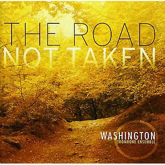 Washington Trombone Ensemble - The Road Not Taken [CD] USA import