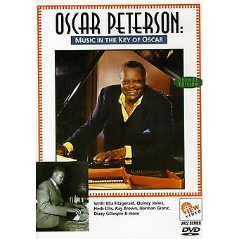 Oscar Peterson - Music in the Key of Oscar [DVD] USA import