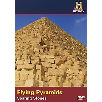Flying Pyramids: Soaring Stones [DVD] USA import