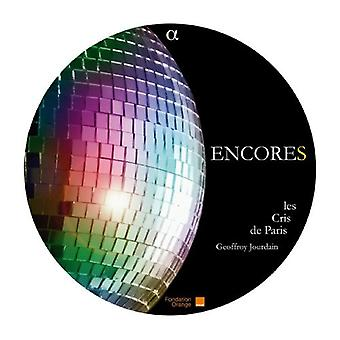 Les Cris De Paris/Jourdain - Encores [CD] USA import
