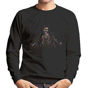 Say Hello To My Little Friends Machete Men's Sweatshirt