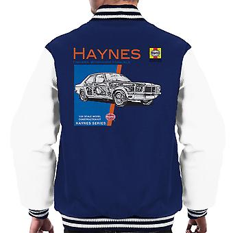 Haynes Owners Workshop Manual 0108 Vauxhall Victor VX4-90 Men's Varsity Jacket