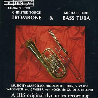 De & Bass trombone Tuba - Christer Torg & Michael Lind [CD] USA import