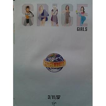 Spice Girls Spiceworld Poster