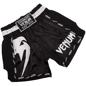 Venum Giant Lightweight Muay Thai Shorts - Black/White