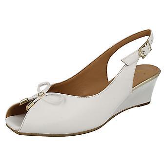 Mesdames Van Dal Sling retour Wedge Oxley sandales Open Toe