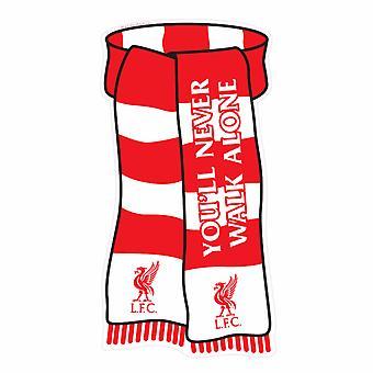 Liverpool FC oficjalny szalik w kształcie Pokaż swoje kolory metalowy znak