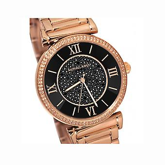 Michael Kors Ladies Rose Gold Watch MK3356