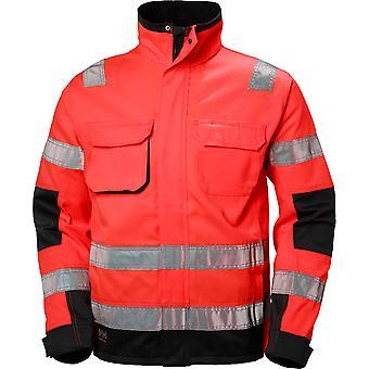 Helly Hansen Herren Alna langlebige High-Vis Bau Workwear Jacke