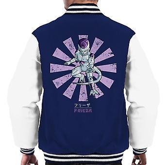 Dragon Ball Z Frieza Retro Japanese Men's Varsity Jacket