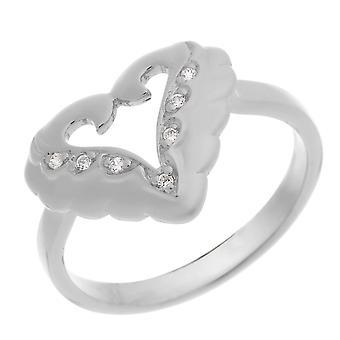 Orphelia srebro 925 pierścień cyrkonu ZR-3936